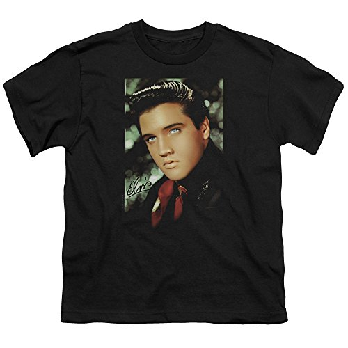 Youth: Elvis-Red Scarf Kids T-Shirt Size YM (Elvis Scarves)