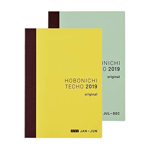 Hobonichi Techo Original Avec Book (Japanese/A6/Jan 2019 Start/2-Book Set)