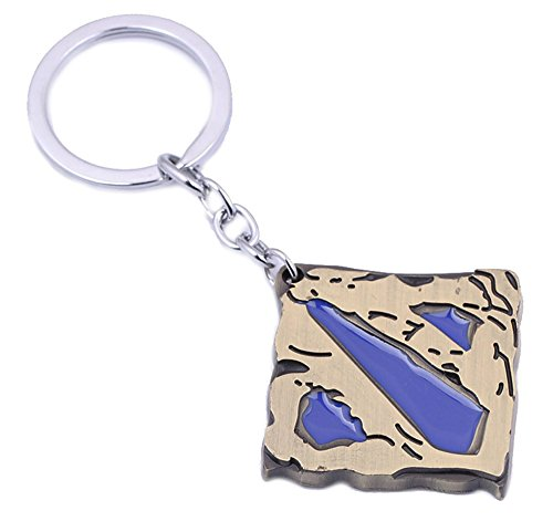 Athena Brand Dota Gaming Games Key Ring Keychain for House Boat Auto Keys -