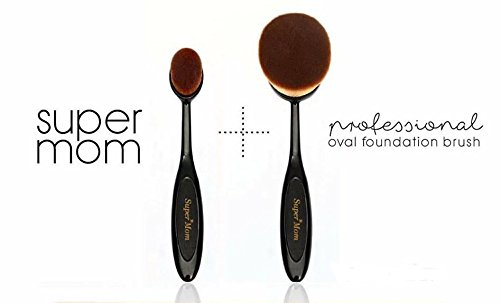 New! Super Definition Face Brush for Professional Makeup & Best Foundation Brush Value Pack (Size S & Size (Mac Makeup Halloween)