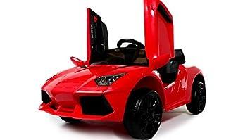 Coche eléctrico niños 12v estilo Lamborghini con mando - Potente batería 12v - Nº1 Ventas en