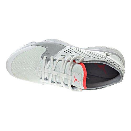 Jordan Flow Zapatos Para Hombre Blanco / Negro / Infrarrojo 23 / Wolf Gray 833969-100