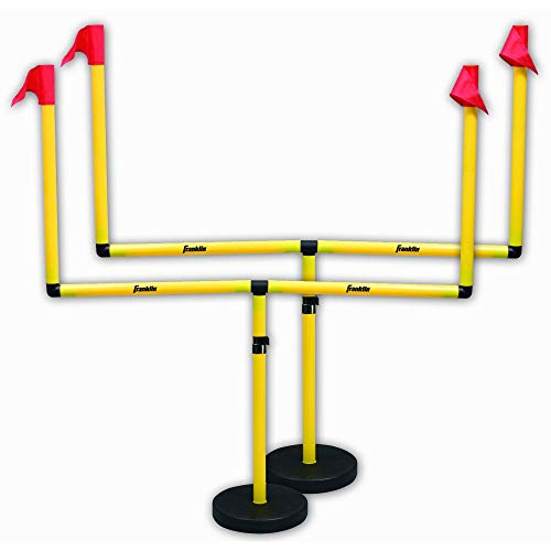 Franklin Sports Youth Football Adjustable Two Goal Post Set (Renewed)