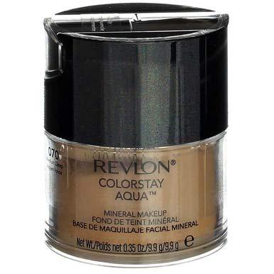 Mineral Revlon Makeup (Revlon Colorstay Aqua Medium/Deep Mineral Makeup -- 2 per case.)