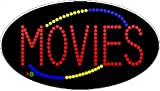 15''x27'' Animated Movies LED Sign w/Flashing Controller