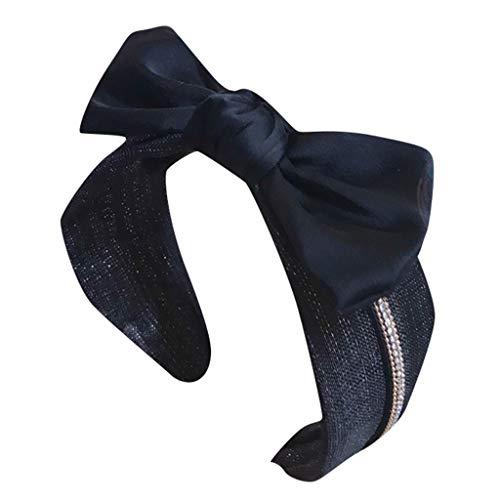 JIUDASG Women's Headwear Crystal Fabric Hairband Head Wrap Accessories Hair Band -