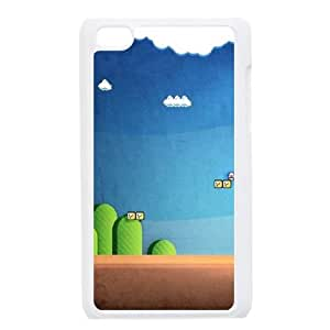 Mario Land iPod Touch 4 Case White Delicate gift JIS_429436