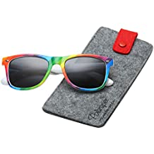 f549393c6d Polarized 80 s Retro Classic Trendy Stylish Sunglasses for Men Women