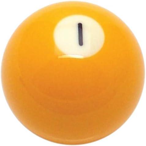 American Shifter 96046 Solid Yellow 1 Ball Billiard Pool Shift Knob