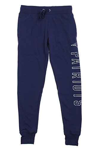 r Women's Boyfriend Lounge Jogger, Multiple Teams (New England Patriots, X-Large (15-17) ()