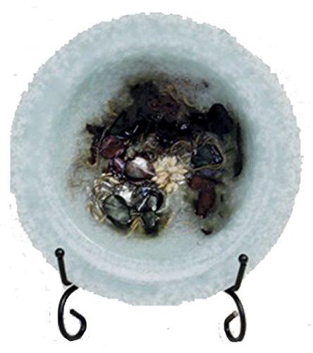 Habersham Breathe Deep Wax Pottery Bowl, 7 inch