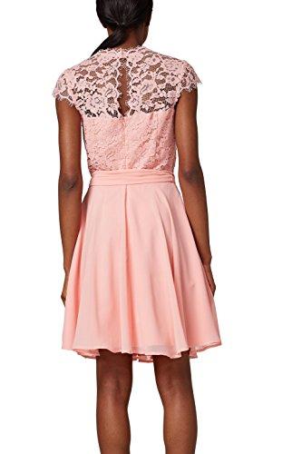 Vestido Fiesta Mujer 690 Collection para ESPRIT Rosa Light de Pink w56AOXxtqX