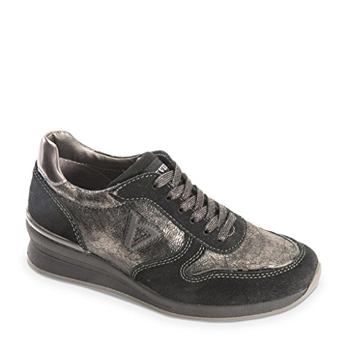 VALLEVERDE Women's Low Trainers Black nvLwgiISpp