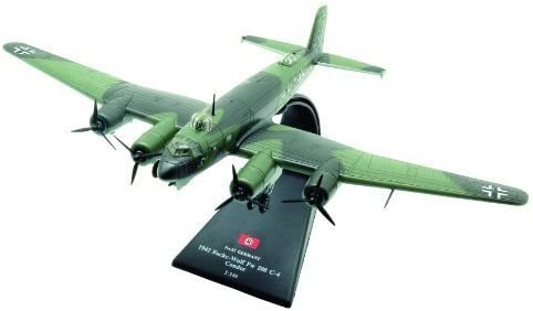 WWII GERMAN CONDOR FW200C-4 1//144 diecast  plane model aircraft IXO