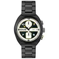D&G Dolce & Gabbana cronógrafo para hombre DW0302 Song Collection Cronógrafo