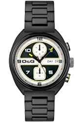 D&G Dolce & Gabbana Men's DW0302 Song Collection Chronograph Watch