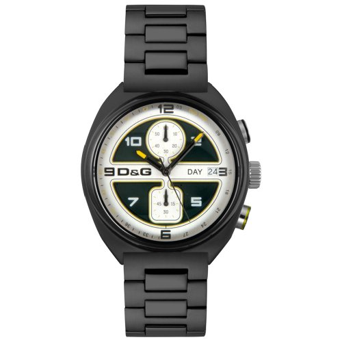 D&G Dolce & Gabbana Men's DW0302 Song Collection Chronograph - Gabbana New Dolce Collection And