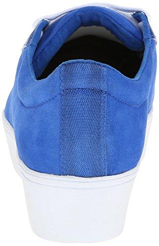 ... Nine West Kvinners Hearmeout Nubuck Mote Sneaker Blå / Multi ...