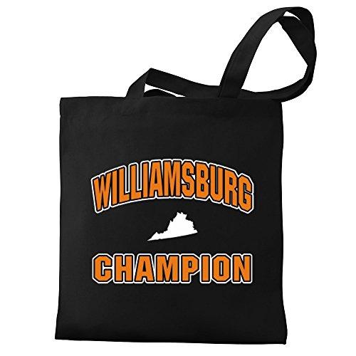 Canvas Bag Eddany champion Williamsburg Bag Tote Eddany Eddany Williamsburg champion champion Tote Canvas Williamsburg 61wqHq