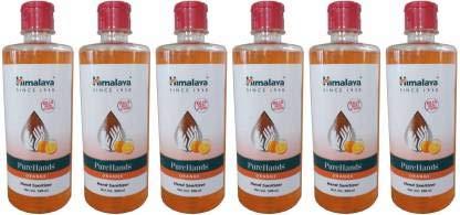 Himalaya PureHands Hand Sanitizer Orange – 500ml (Pack of 6)