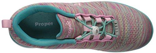 Wat012m Nordique Chaussures us Rose Femme Propet Frauen Rain Pour Marche Turquoise De HdW6Z