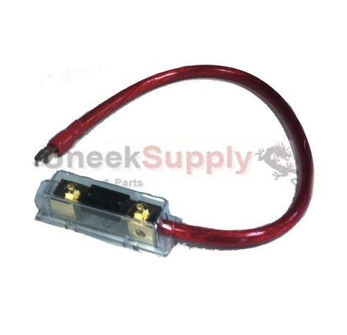 200 AMP ANL Fuse Holder Fuseholder Inline Block Battery Install KIT 0 Gauge 2 Ft