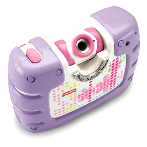 Fisher-Price Kid-Tough See Yourself Camera, Purple ()