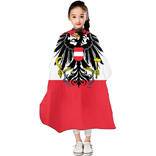 Austria State Flag Kids Haircut Barber Cape Cover For Hair Cutting Barber Apron 3947 In