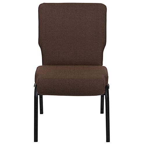 Advantage 20.5 in. Java Molded Foam Church Chair
