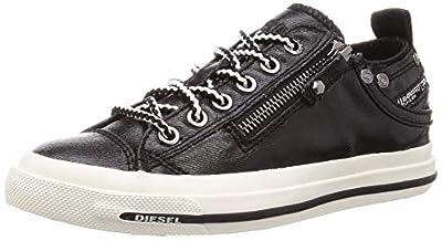 Diesel Women's Magnete Expo-Zip Low W-Shoes Sneaker