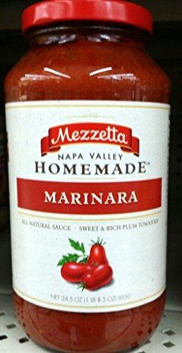 Mezzetta Napa Valley Homemade Marinara Sauce 24.5 Oz (Pack of - Napa Shopping