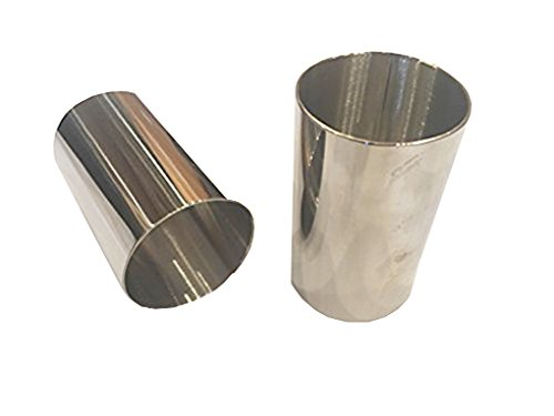 """(Pack of 2) Round Food Ring, Stainless Steel (1.75"""" D x 3""""H) 41TMsNA2SWL"""