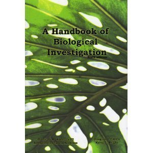 Handbook of Biological Investigation (6th Edition)