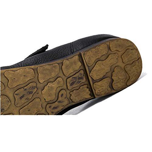 Zpedy automne femmes décontracté mode à noir la chaussures rétro pour confortable porter gtarwg
