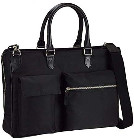 [和製 鞄] 三方開き ビジネスバッグ 牛革 ハンドル 通勤 出張 B4 ファイル対応 メンズ 機能性 バッグ