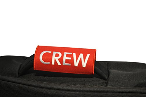 53c5914c2c08 Crew Luggage Handle Wrap | Multicolours | Pilot Bag Handle Wrap | Red