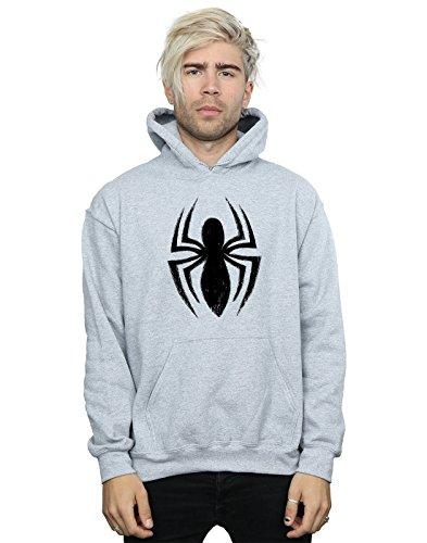 Capuche Homme Ultimate Spider Gris Marvel man Logo Sweat À Sport Spider xH8qfA