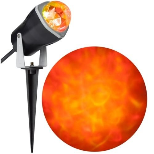 Halloween Outdoor Decoration LED Fire & Ice Spot Light Effect Projector RRY (1) (1) for $<!--$34.44-->