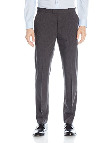 Van Heusen Men's Flex Straight Fit Flat Front Pant