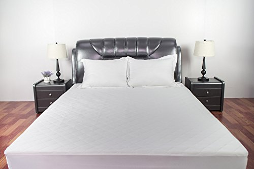Sunstyle Home Mattress Pad  Soft Quilted Mattress Cover, Wat