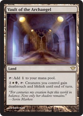 Magic: the Gathering - Vault of the Archangel (158) - Dark Ascension - Foil