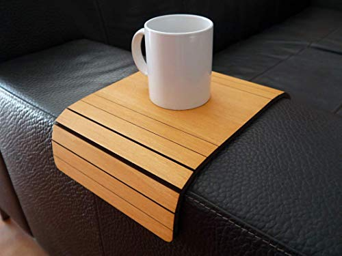 Superb Amazon Com Wooden Sofa Armrest Table In Many Colors As Pine Squirreltailoven Fun Painted Chair Ideas Images Squirreltailovenorg