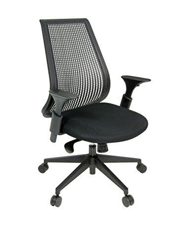 Regency Lizze Swivel Office Chair in Black (Desk Executive Regency)