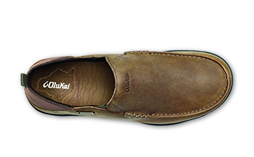 Ray Men's OluKai WP Dark Na'i Wood Footwear wIIU1q6