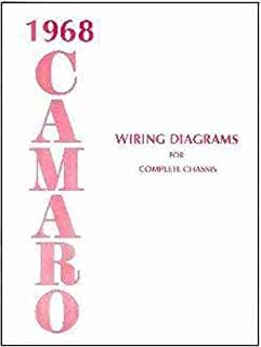 1968 camaro wiring diagram manual reprint chevrolet amazon com books  1968 camaro complete set of factory electrical wiring diagrams & schematics guide 8 pages