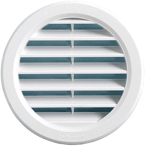 120 mm /Ø 150 mm Medida exterior Rejilla de ventilaci/ón empotrado /Ø empotrado