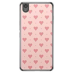 Loud Universe OnePlus X Love Valentine Printing Files Valentine 112 Printed Transparent Edge Case - Pink