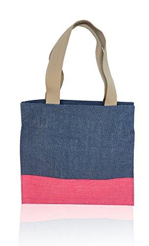 Foonty Daily Use Women Jute Lunch Bag  5031