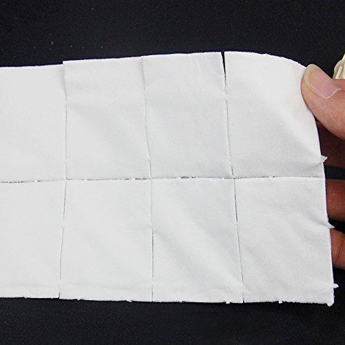 Welim - Toallitas para limpiar las uñas, toalla para eliminar las uñas, toallitas absorbentes para limpiar las uñas (500 hojas), color blanco: Amazon.es: ...