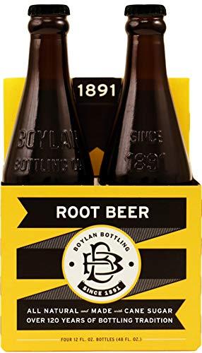 Boylan Bottling Natural Root Beer Soda, 12 Fluid Ounce - 24 per case. (Best Gourmet Root Beer)